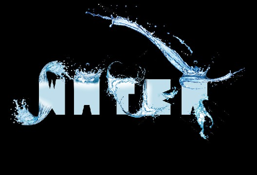 Create an Awesome Water Typography effect Steps -13.1