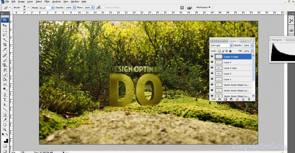 create a Cool 3D TEXT using Adobe Illustrator and Photoshop - Steps 11.1