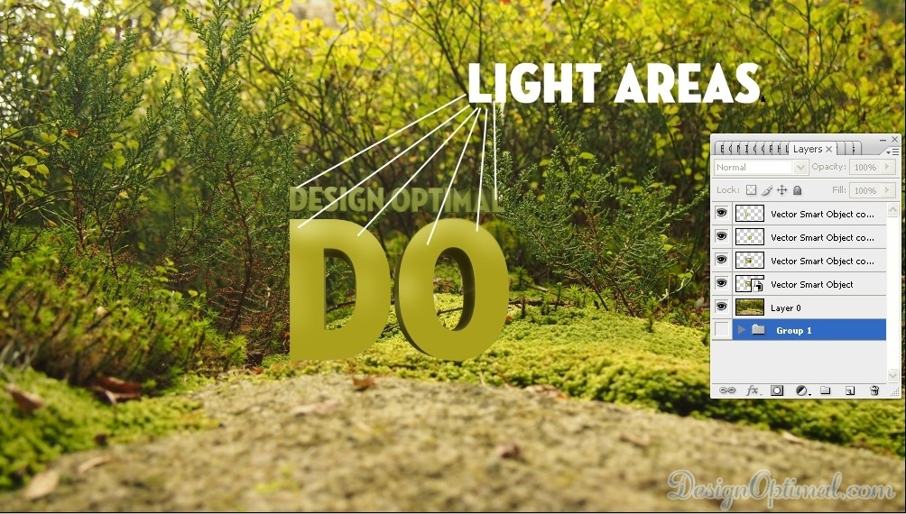 create a Cool 3D TEXT using Adobe Illustrator and Photoshop - Steps 6.1