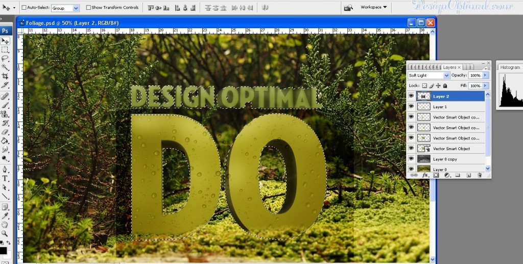 create a Cool 3D TEXT using Adobe Illustrator and Photoshop - Steps 9.1