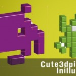 How to Create a Cute 3D Pixel Monster in Illustrator