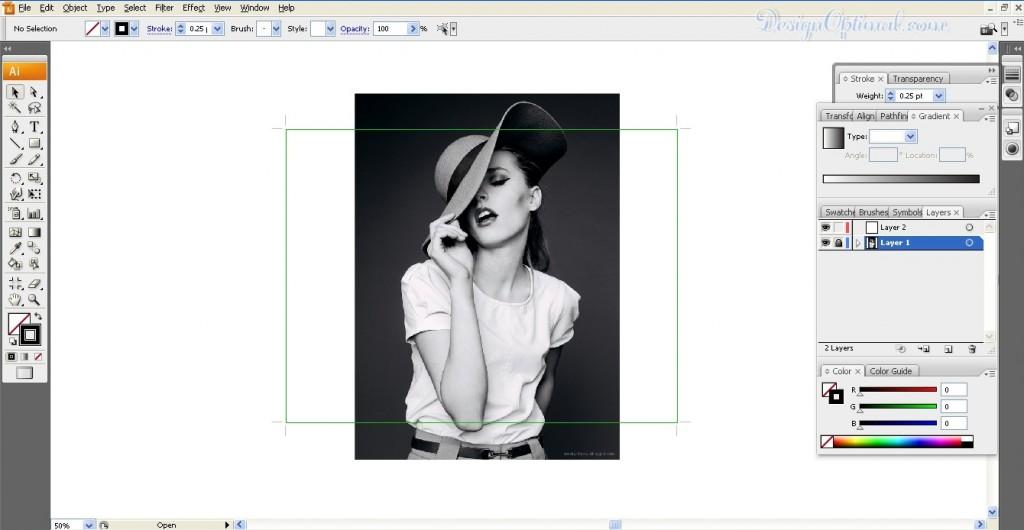 Create a Cool Pop Art poster using Adobe Illustrator steps - 1.1