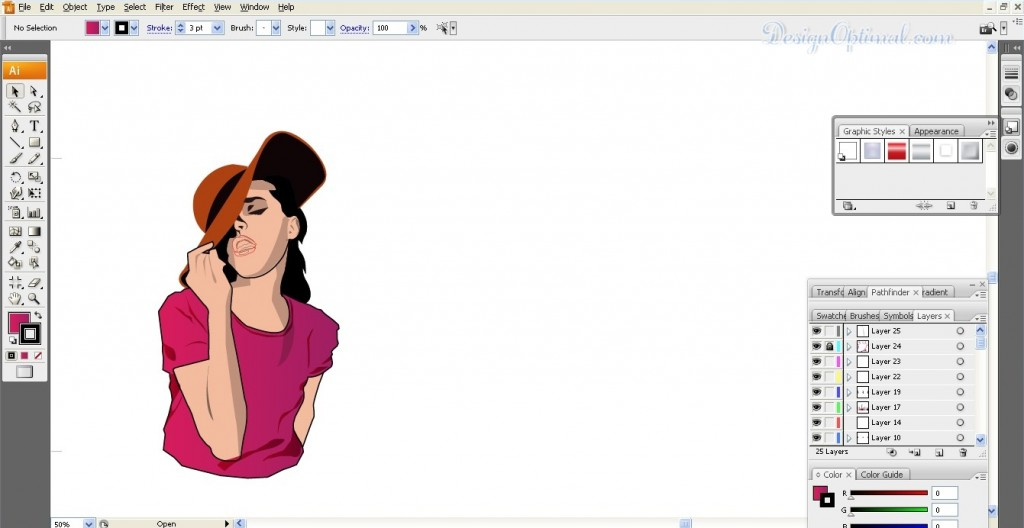 Adding highlights to body (click to zoom image)