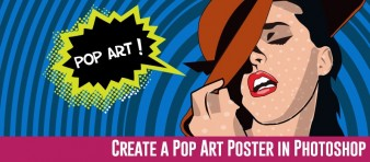 Create a Cool Pop Art poster using Adobe Illustrator steps -  featured