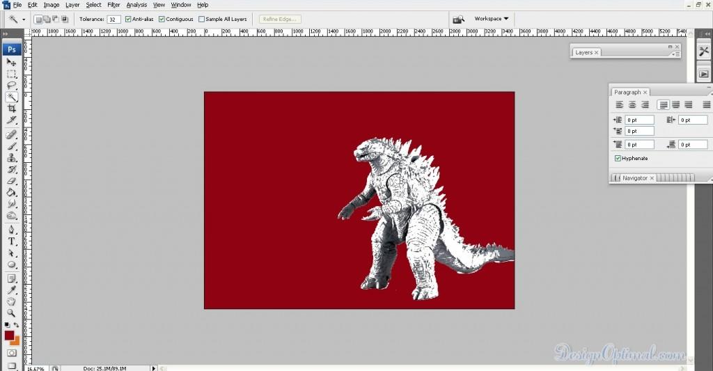 04_blending the Godzilla threshold image (click to zoom image)
