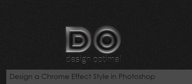 How to Design a Chrome Effect Style in Photoshop featured
