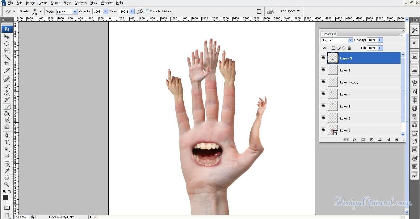 how to make photos look creepy in photoshop