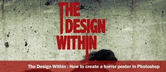 the design within horror poster - featured
