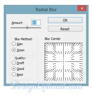 adding the radial blur 01 (click to zoom image)