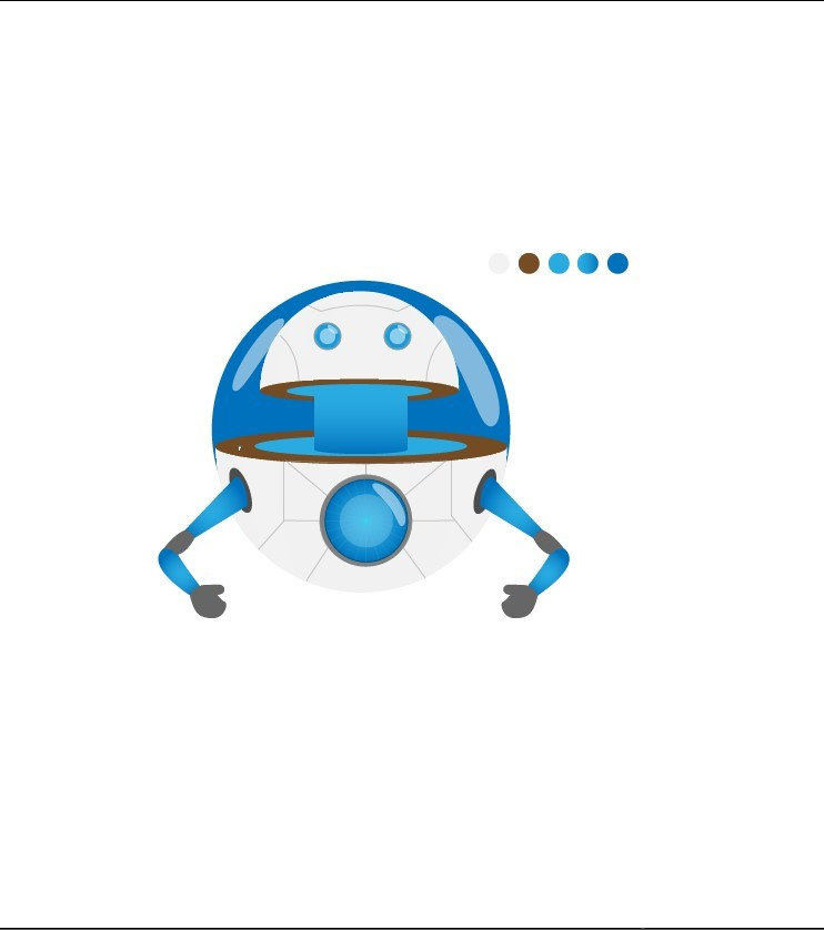 Create a Cool Hover Robot on AI - 13.2