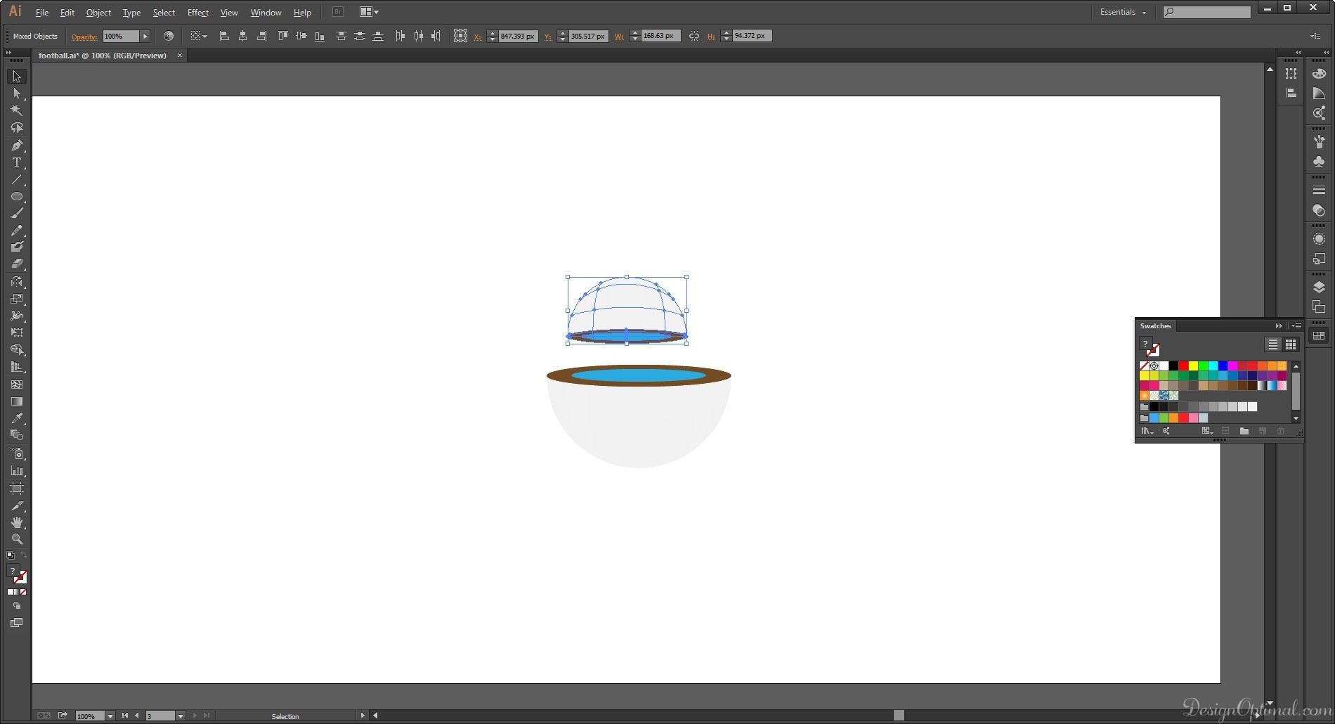 Character Design Using Adobe Illustrator : How to create a cool hover robot character using adobe