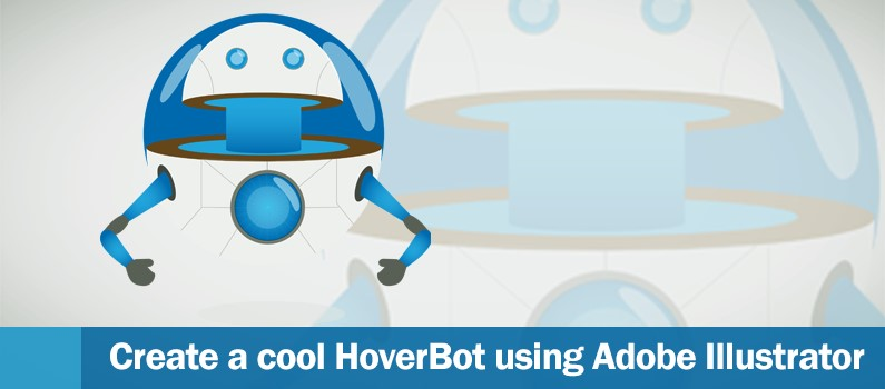 Create a Cool Hover Robot  on AI - header