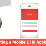 Create a Simple Mobile UI interface for iPhone 6 using Adobe Illustrator