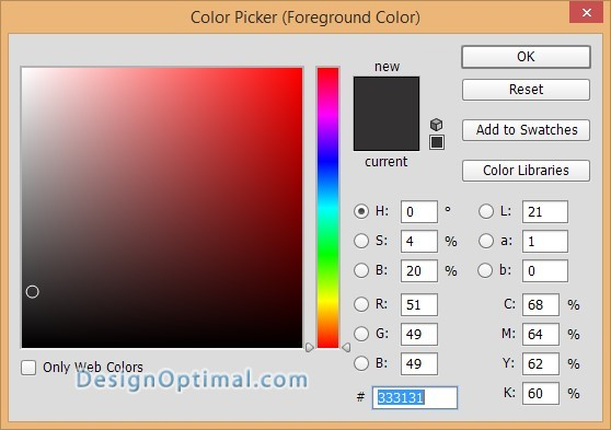 Design a Chrome Effect in Photoshop steps - 4.1