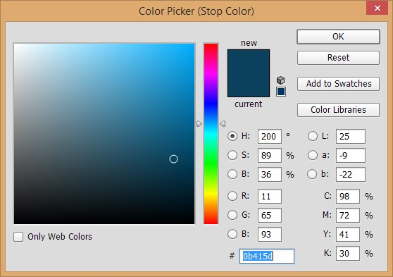 Design a Chrome Effect in Photoshop steps - 7.3