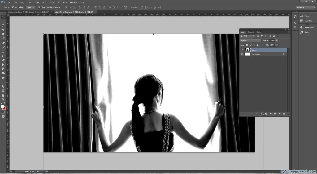 8.1 New PSD of the girl