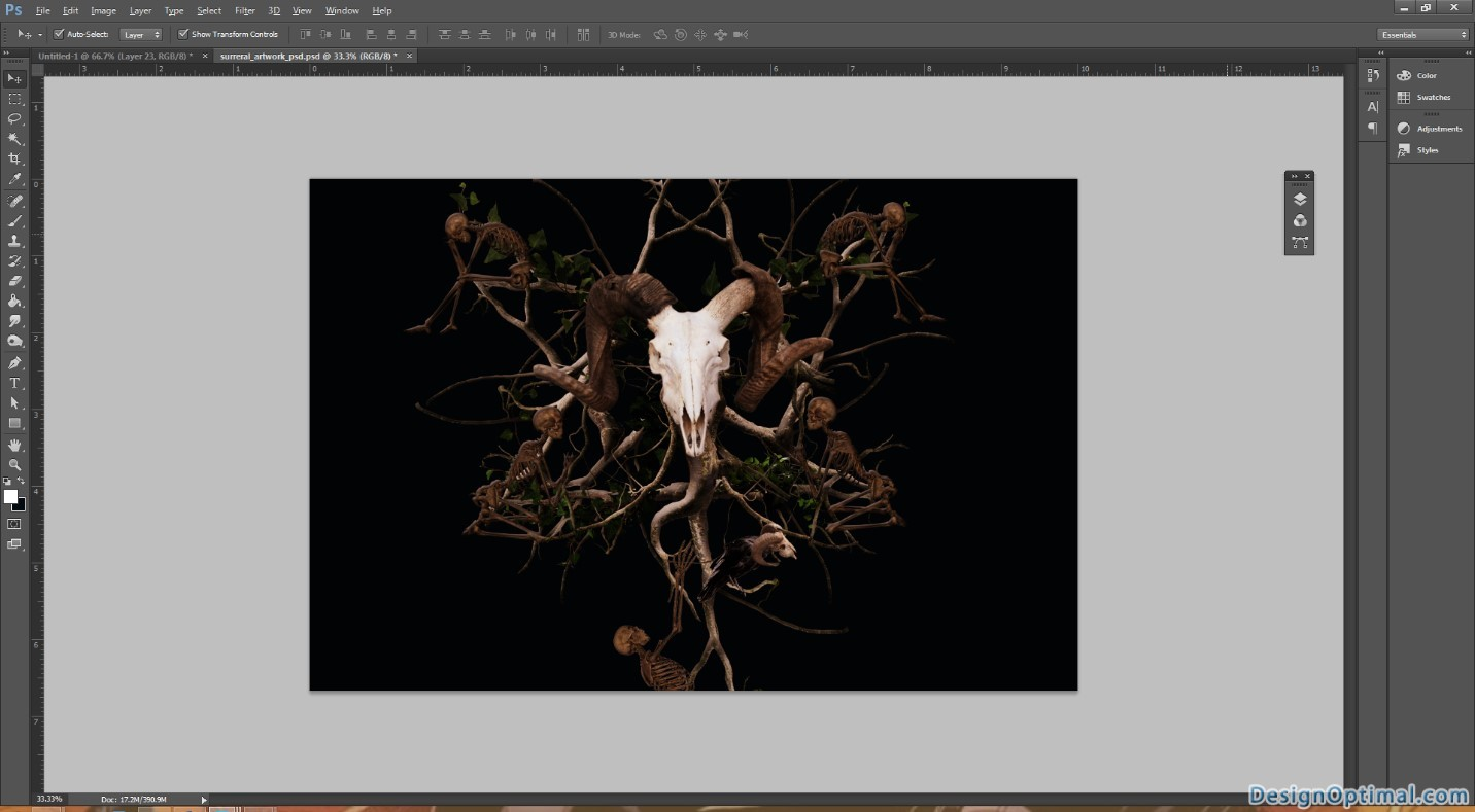 how to create surreal art in photoshop