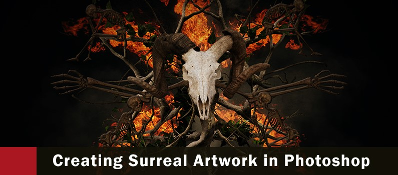 Making of the Slayer – Surreal art in Photoshop