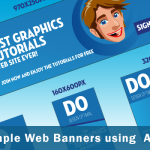 How to Create Simple Web Banners using Adobe Illustrator