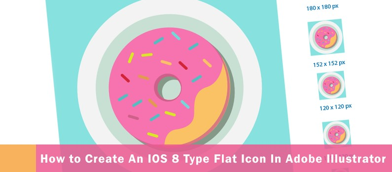 Create an iOS 8 Type flat icon in Adobe Illustrator steps -  featured