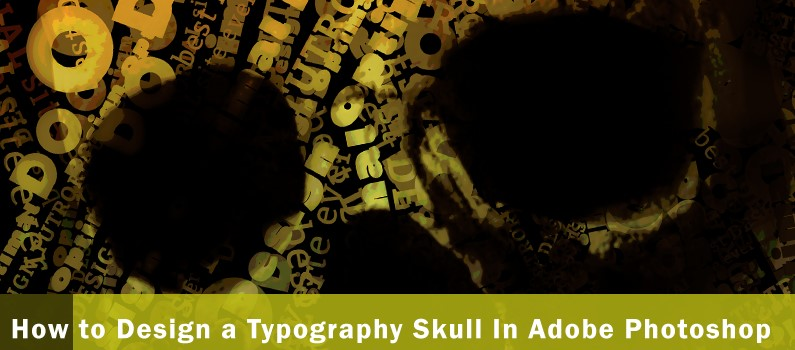 How to Design a Typographics Skul - featured